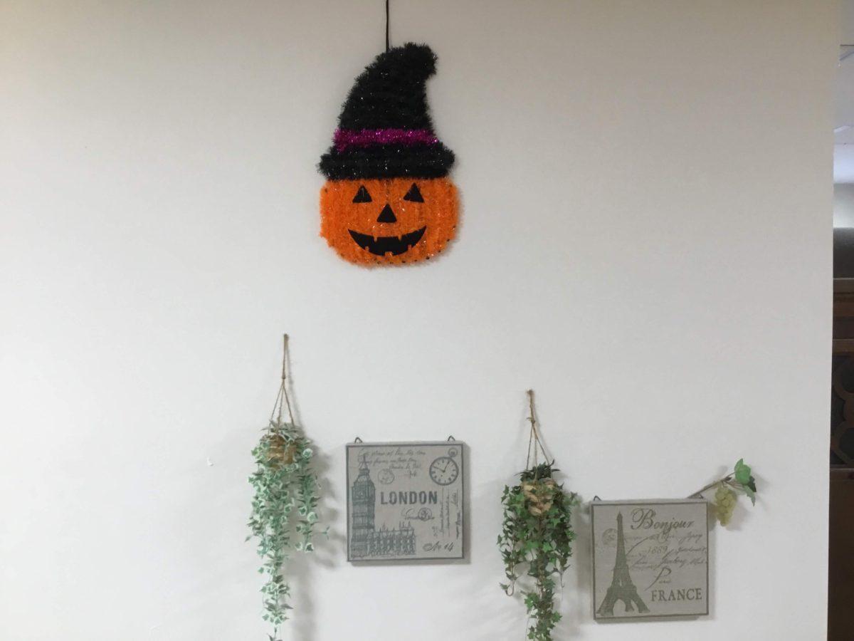 【門真】ハロウィン飾り付け