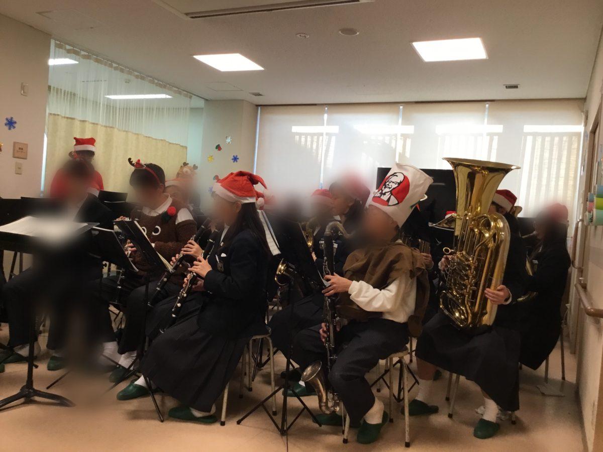 【長居公園】クリスマス演奏会