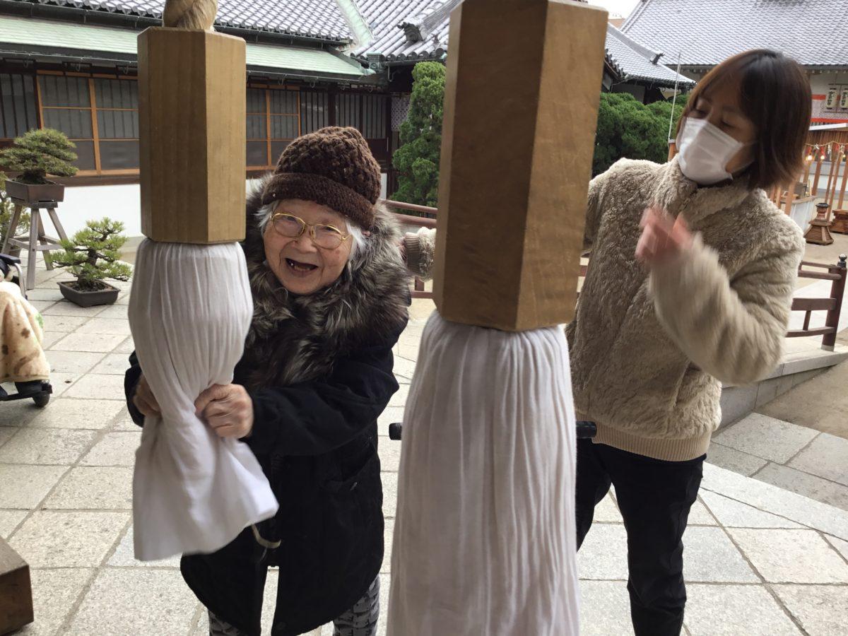 【長居公園】初詣〜おしゃべりメガネ編〜